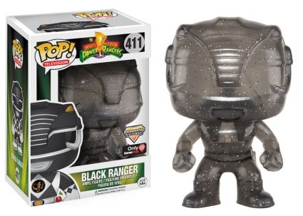 Funko POP! TV: Power Rangers - Black Ranger Morphing LE