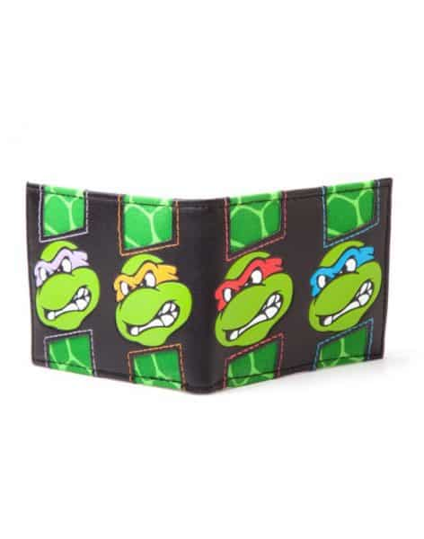 Turtles - TMNT Turtle faces wallet