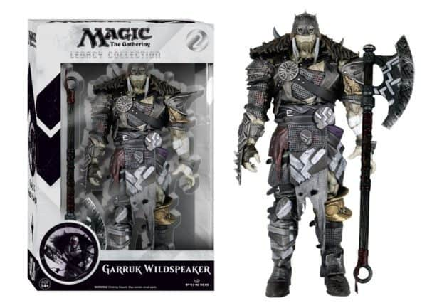 Magic the Gathering Legacy Collection Action Figure Series 1 Garruk Wildspeaker 15 cm