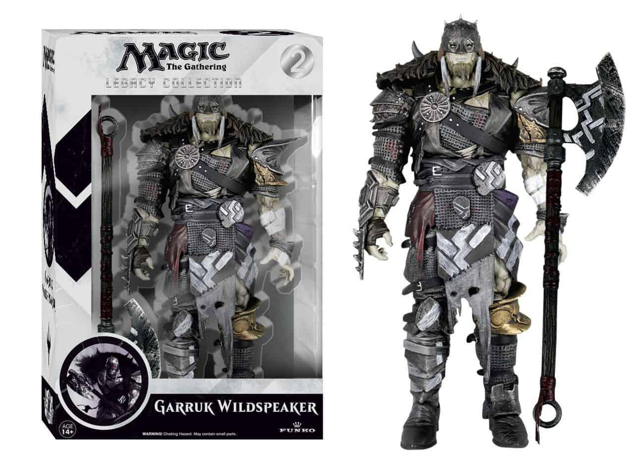 Magic the Gathering Legacy Collection Action Figure Series 1 Garruk Wildspeaker 15 cm