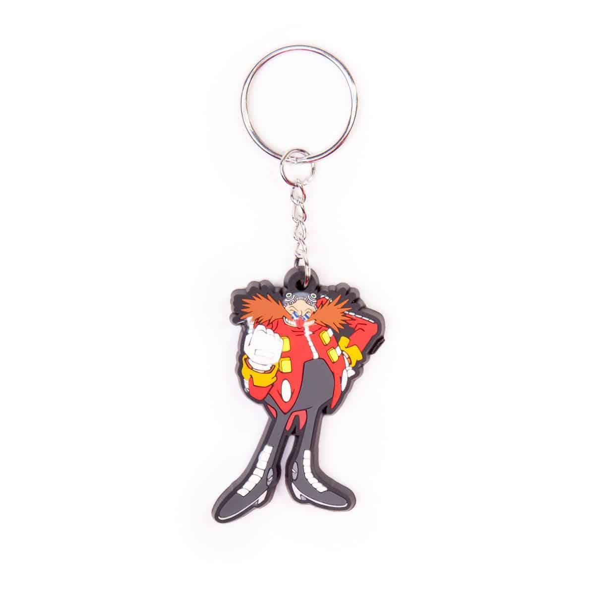 Sega - Dr. Eggman Rubber Keychain