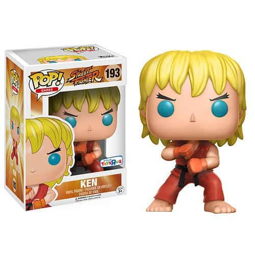 Funko POP! Games - Street Fighter Special Attack Ken Vinyl Figure 10cm limited