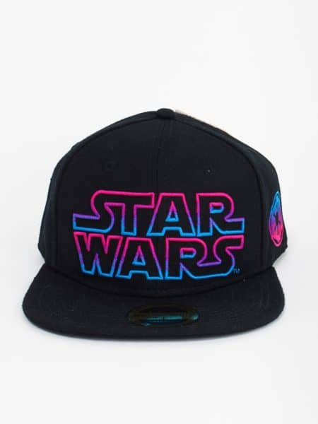 Star Wars – Black Snapback With Coloured Star Wars Logo
