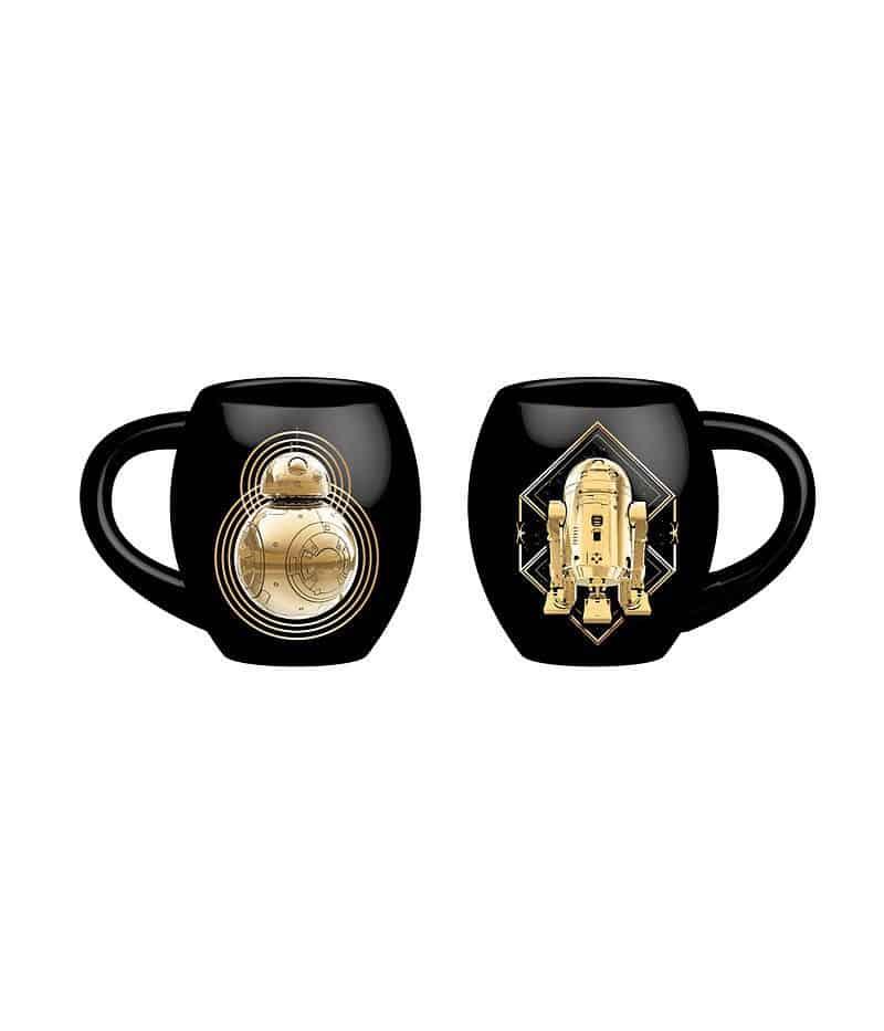Star Wars Episode VIII Deluxe Mug Golden Droids