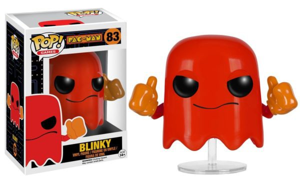 Funko POP! Games - PAC-MAN Blinky Vinyl Figure 10cm