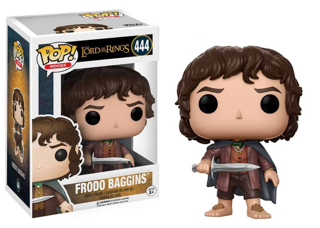 Funko POP! Movies Lord Of The Rings - Frodo Baggins Vinyl Figure 10cm