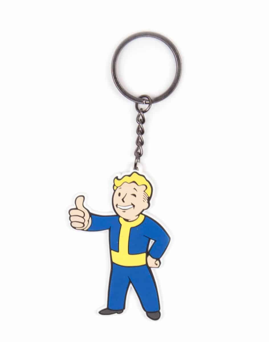 Fallout 4 - Vault Boy Approves Keychain