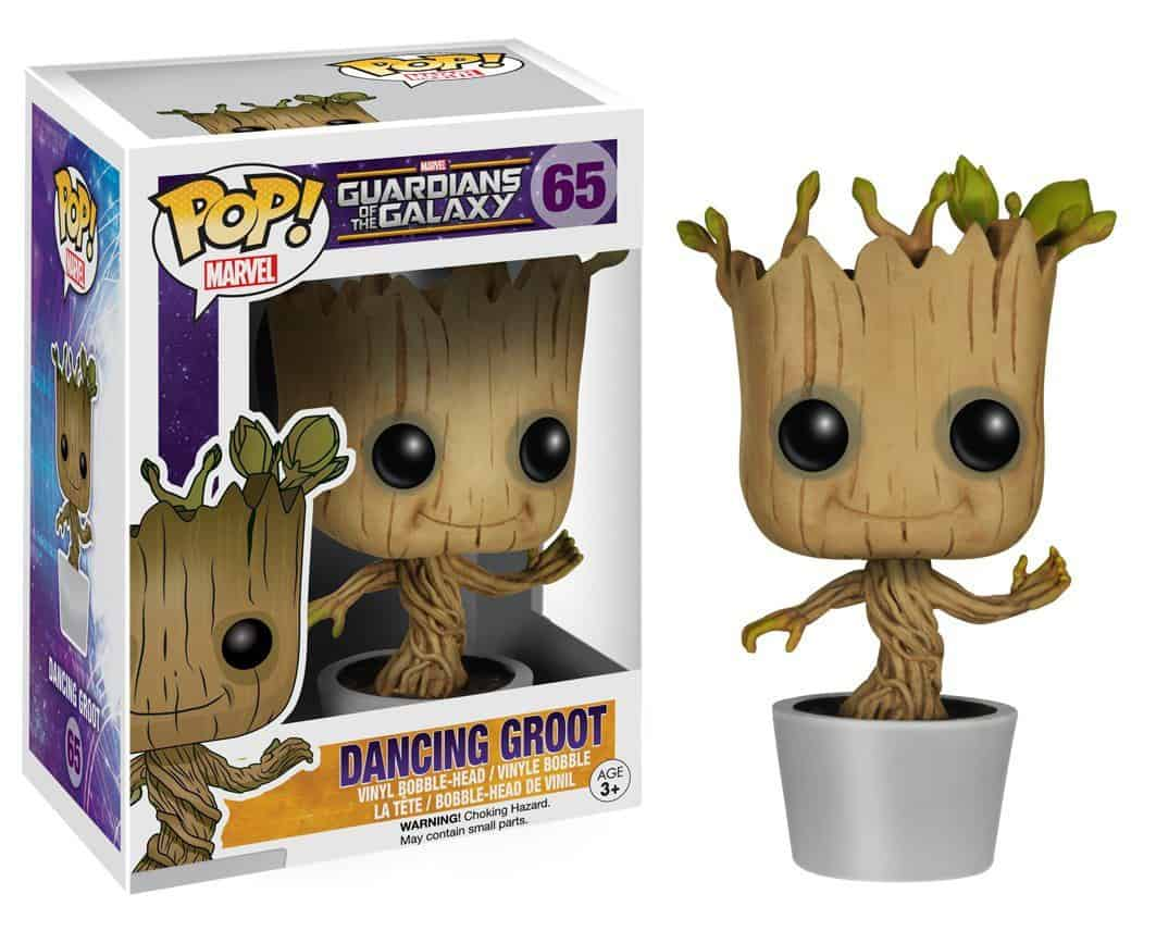 Funko POP! Guardians of the Galaxy Vinyl Bobble-Head Dancing Groot 10 cm