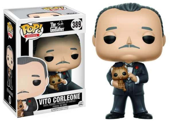 Funko POP! Movies Godfather - Vito Corleone Vinyl Figure 10cm