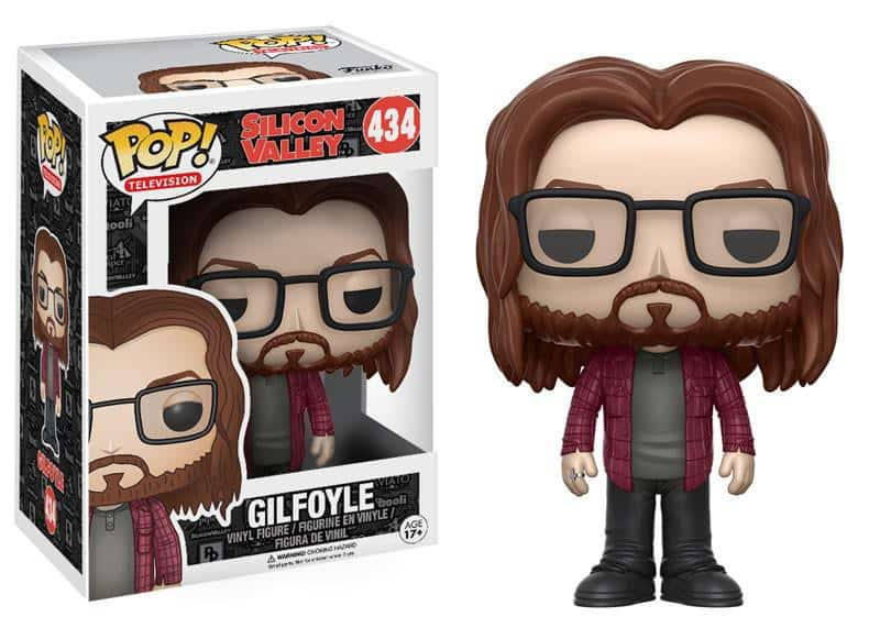 Funko POP! TV Silicon Valley - Gilfoyle Vinyl Figure 10cm
