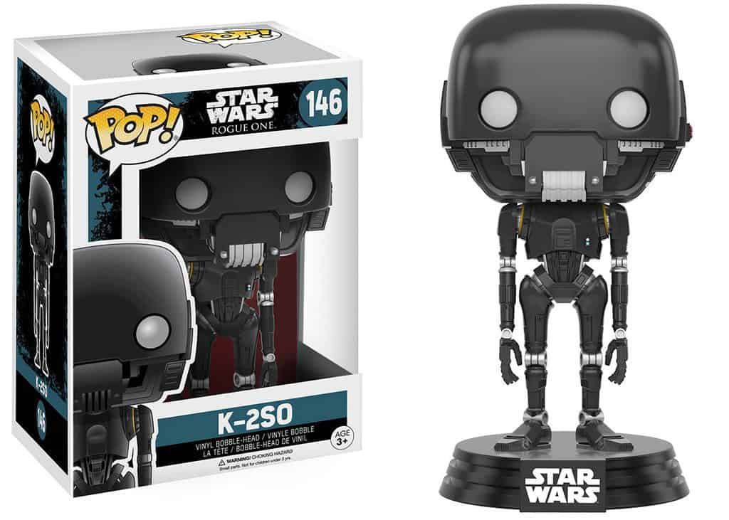 Funko POP! SW Rogue One - K-2SO Trooper Vinyl Figure 10cm