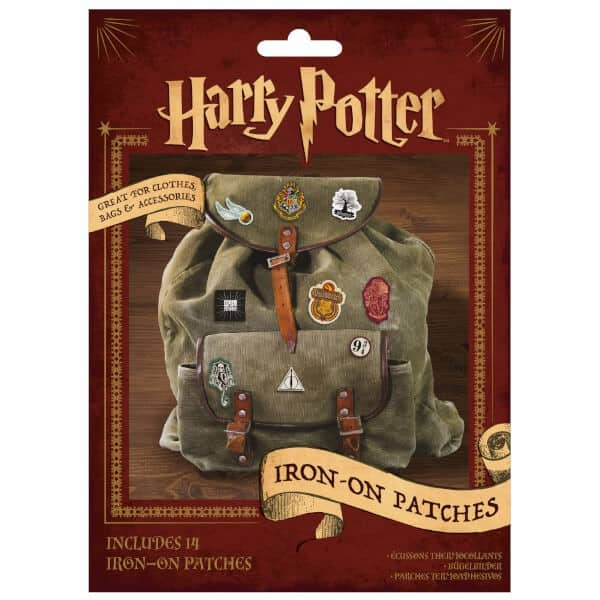 Harry Potter Iron-On Patch 14-pack