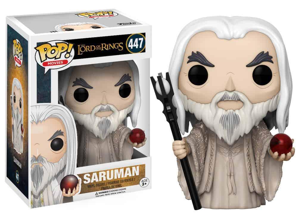 Funko POP! Movies Lord Of The Rings - Saruman Vinyl Figure 10cm