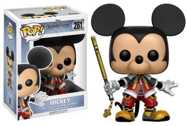 Funko POP! Kingdom Hearts - Mickey Vinyl Figure 10cm