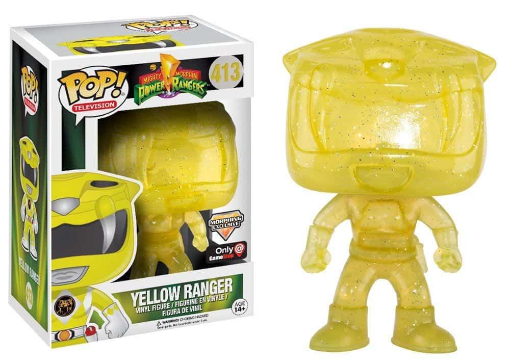 Funko POP! TV: Power Rangers - Yellow Ranger Morphing LE