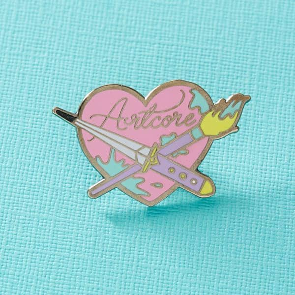 Punky Pins Artcore pin