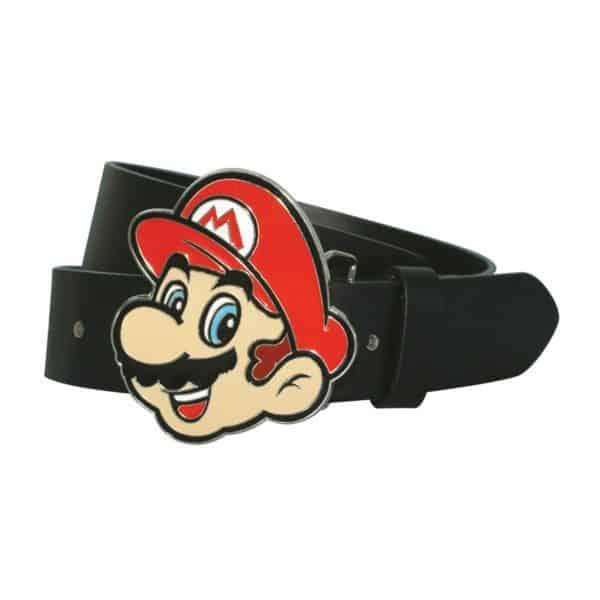 Nintendo - Mario Face Buckle W/ Strap