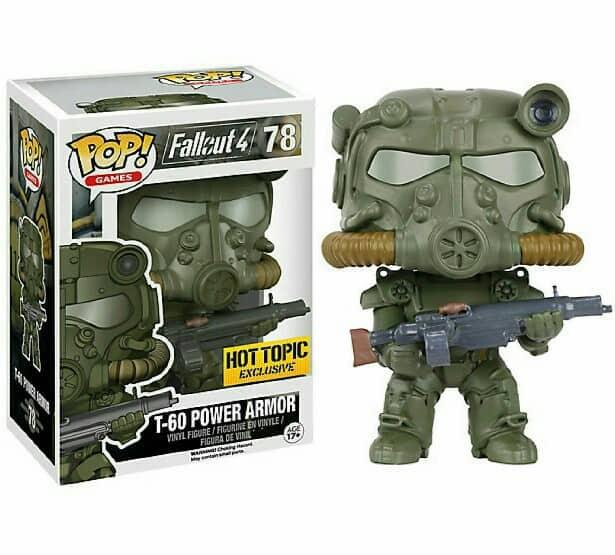 Funko POP! Games - Fallout 4 T-60 Power Armor Green Armor Vinyl Figure 10cm limited