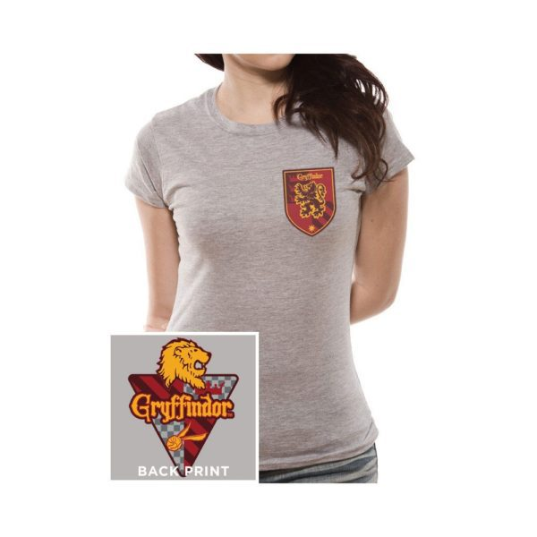 Harry Potter Ladies T-Shirt House Gryffindor