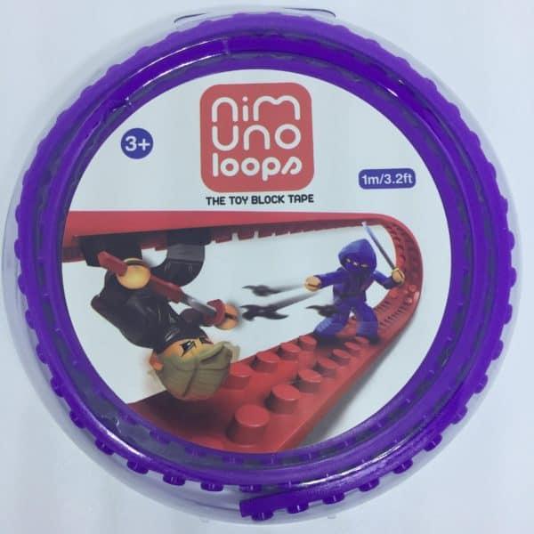 Nimuno loops Paars LEGO tape