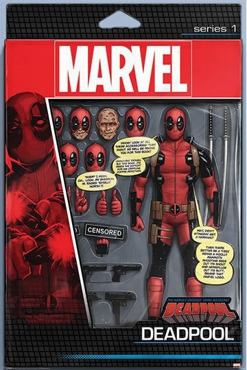Deadpool Poster Pack Action Figure 61 x 91 cm