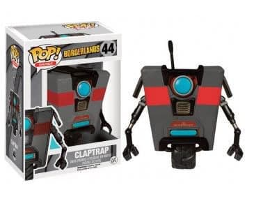 Funko POP! Games: Borderlands - Black Claptrap LE