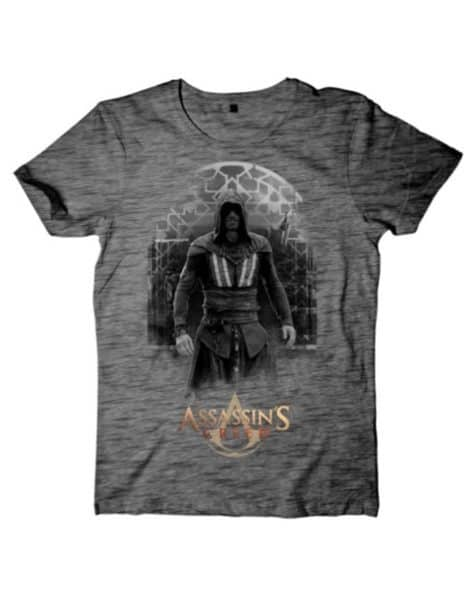 Assassin's Creed Movie – Aguilar on Grey Grindle T-shirt
