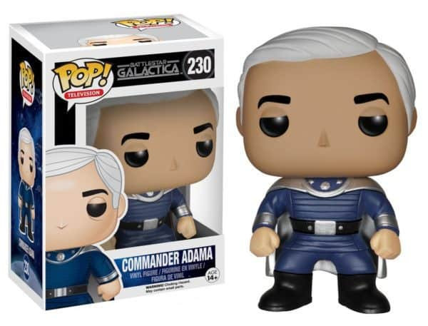 Funko POP! TV - Battlestar Galactica Commander Adama Vinyl Figure 10cm