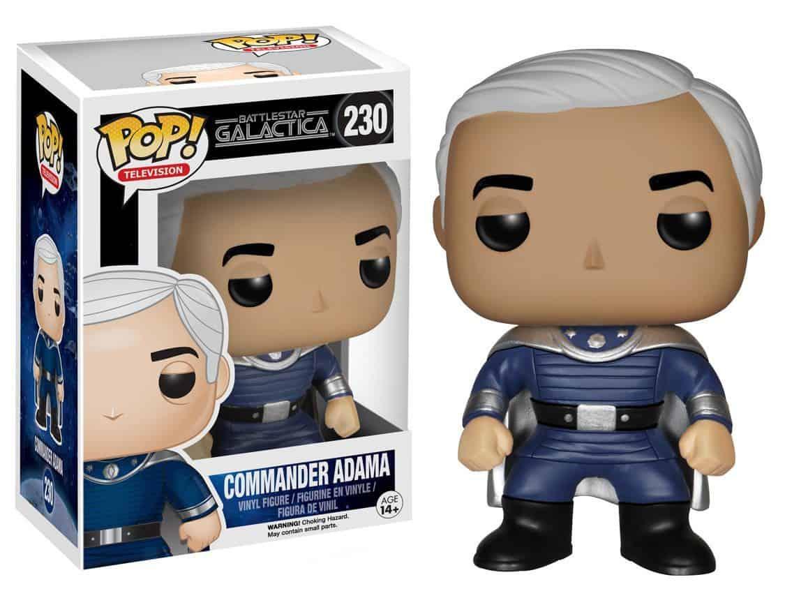 Funko POP! TV - Battlestar Galactica Commander Adama Vinyl Figure 10cm