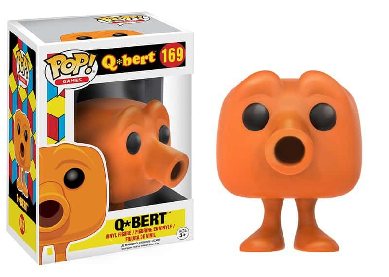 Funko POP! Games Q*Bert - Bill Vinyl Figure 10cm