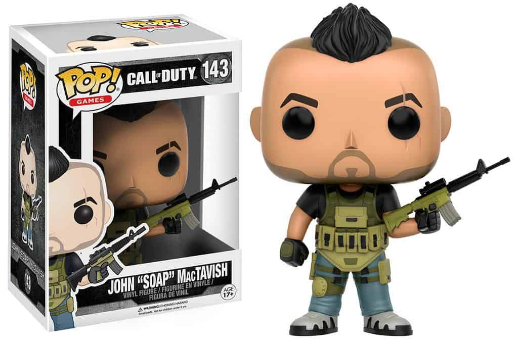 Funko POP! Games - Call Of Duty John 'SOAP' MacTavish Vinyl Figure 10cm