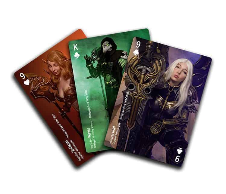 Poker Cards: Cosplay Edition - EN