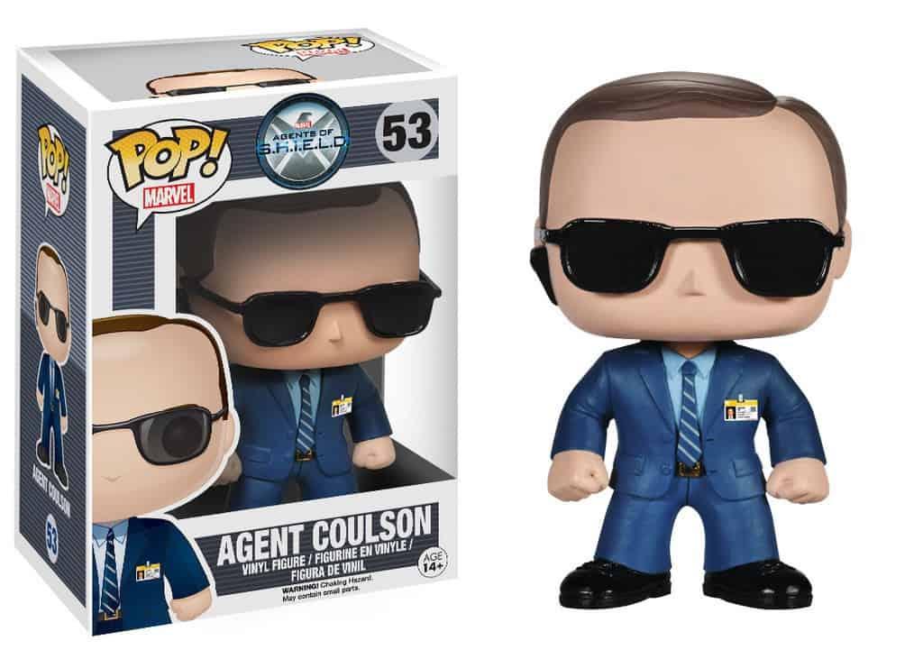 Funko POP! Agents of S.H.I.E.L.D. - Agent Coulson Vinyl Figure 10cm
