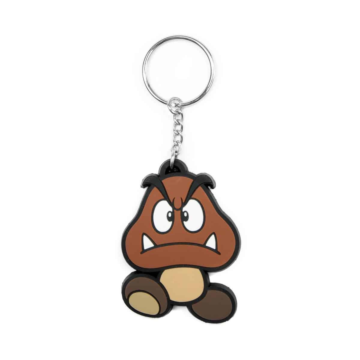 Nintendo - Goomba Rubber Keychain
