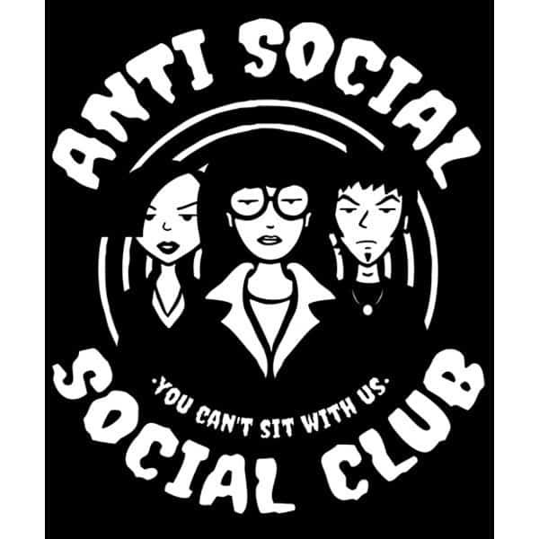 Daria: Anti Social Club T-shirt