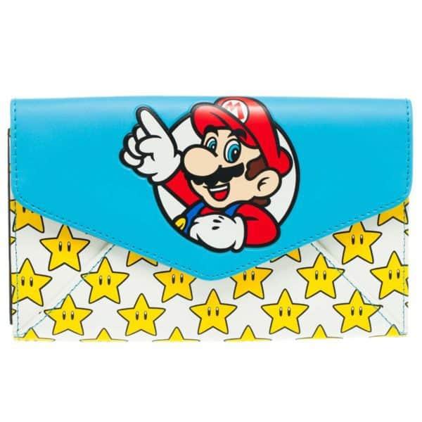 Nintendo - Mario & Stars Envelop Wallet