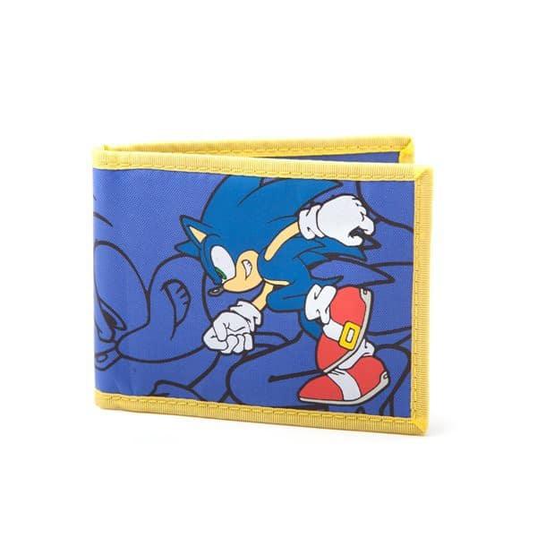 Sega - Sonic Bi Fold Fabric Wallet