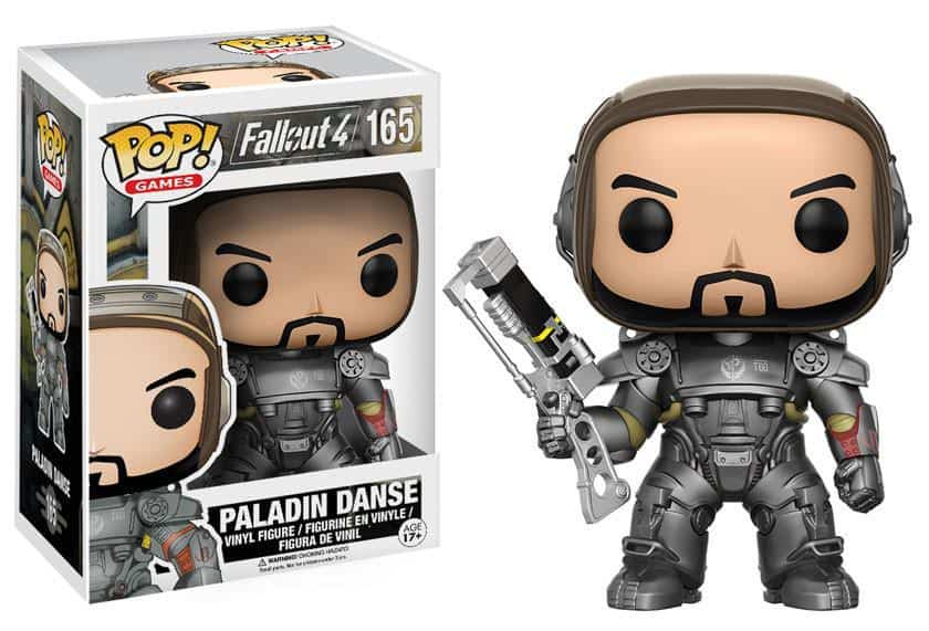 Funko POP! Games - Fallout 4 - Paladin Danse Vinyl Figure 10cm