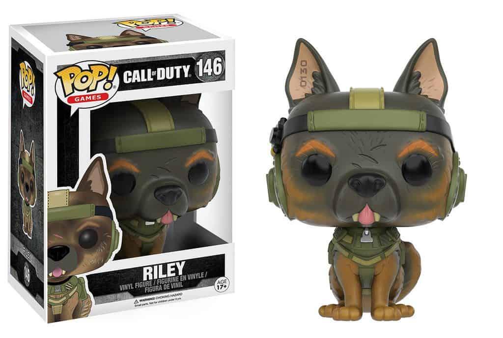 Funko POP! Games - Call Of Duty Riley Vinyl Figure 10cm
