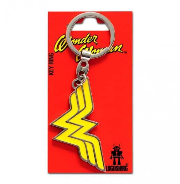 DC – Wonder Woman Logo Keyring
