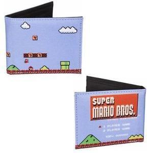 Nintendo 1985 Supermario Bros Retro Bifold Wallet