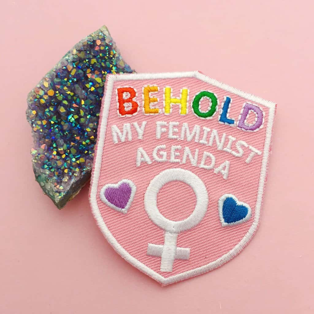 HOYFC Behold My Feminist Agenda Patch