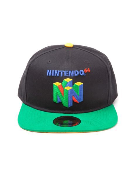 Nintendo – N64 Logo Snapback