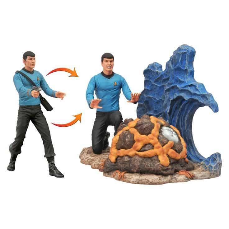 Star Trek Select Action Figure Commander Spock 18 cm