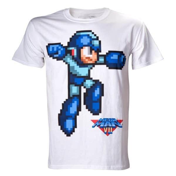 Megaman - White Character Shirt