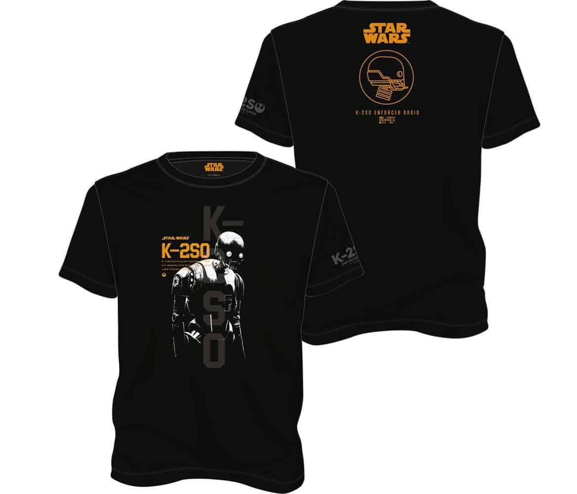 Star Wars Rogue One T-Shirt K-2S0 T-Shirt
