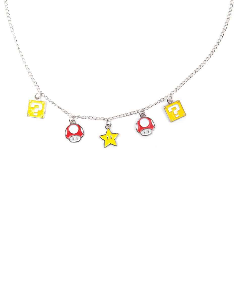 Nintendo - Mushroom, Question Mark, and Super Star Necklace