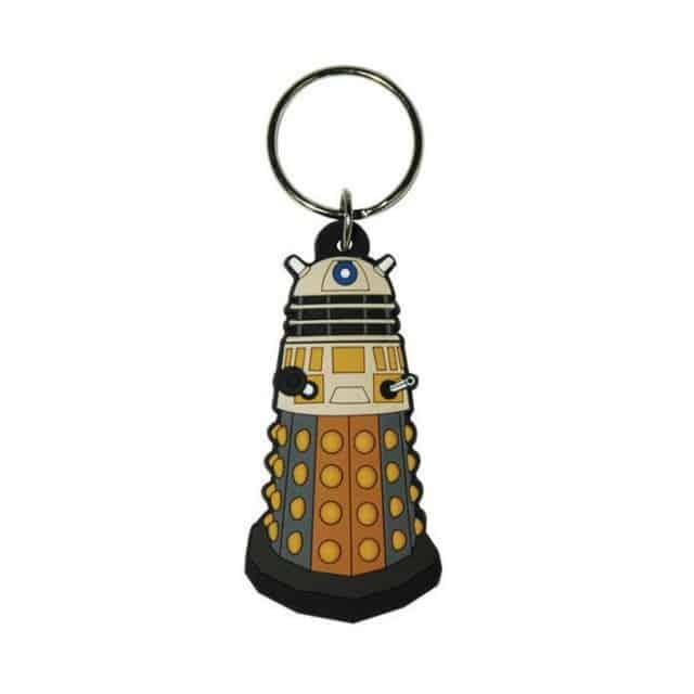 Doctor Who Rubber Keychain Dalek 6 cm