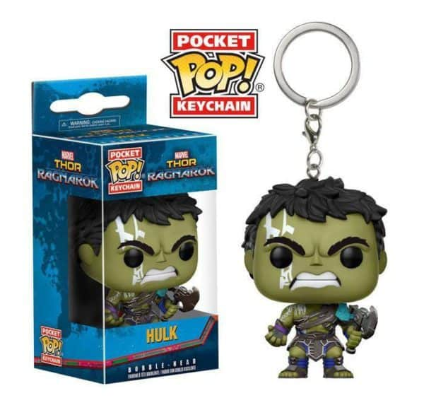 """Funko POP! Thor Ragnarok Pocket Vinyl Keychain Hulk (Gladiator Suit) 4 cm """""""