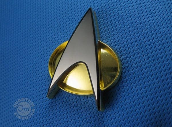Star Trek TNG Replica 1/1 Communicator Badge Starfleet
